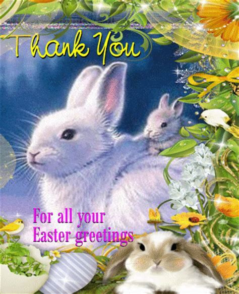 An Easter Thank You Ecard. Free Thank You eCards, Greeting