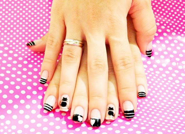 juliana leite unhas gatinho nail art filha unica unhas decoradas 012