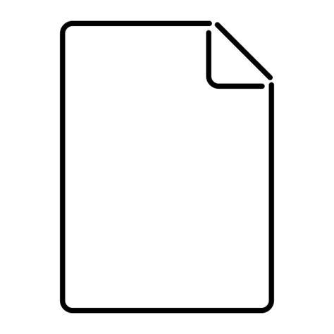 polos kertas kertas kosong ikon gratis  credocon