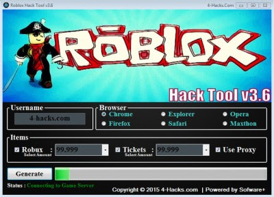 Robux Giver Chrome Extension