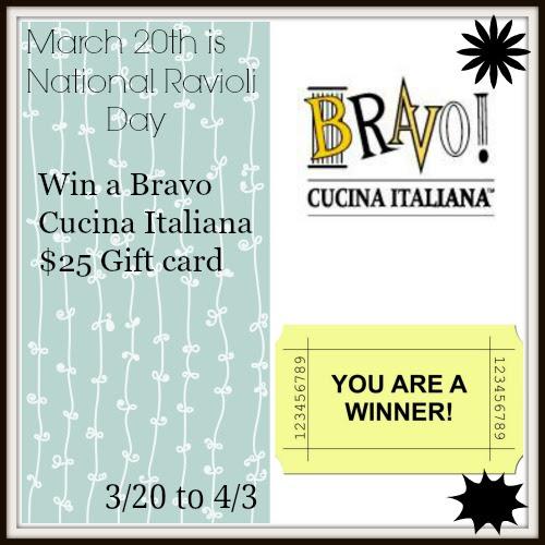 Bravo gift card