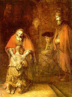 """Rembrandt - """"Le Retour du Fils Prodigue"""""""