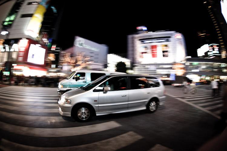 Coche en Tokyo