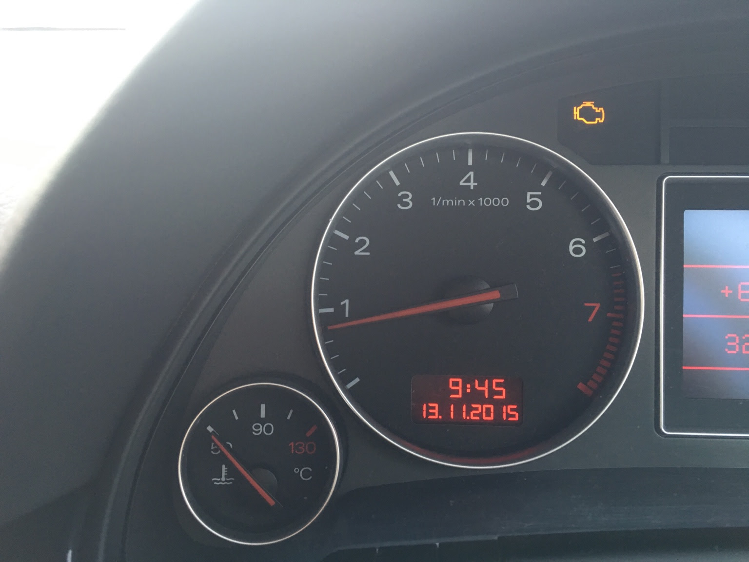 Audi A4 20 Tdi Engine Management Light