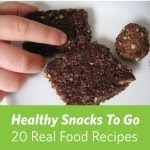 Real snacks for geocaching kids