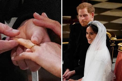 Meghan Markle and Prince Harry?s Royal Wedding rings is