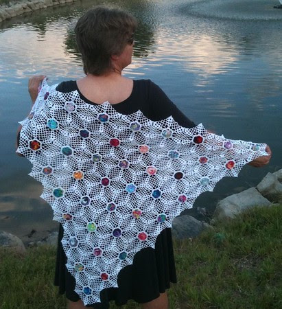 Mother's Day Snowflake Variation Shawl