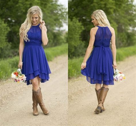 Popular Western Style Bridesmaid Dresses Buy Cheap Western
