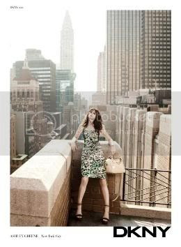 More Ashley Greene for DKNY Photos