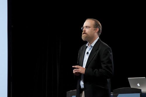 Adam Messinger, JavaOne Technical Keynote, JavaOne 2011 San Francisco