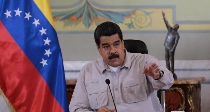 "Maduro prorroga 72 horas cierre frontera con Colombia y Brasil contra ""mafias"""