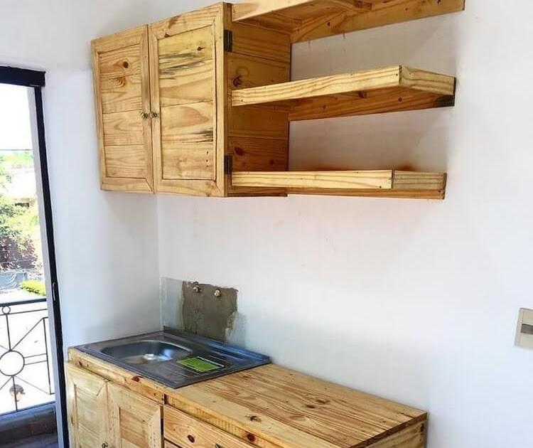 Como Hacer Un Mueble Para Cocina Con Palets - FIVAMEDIA.TECH