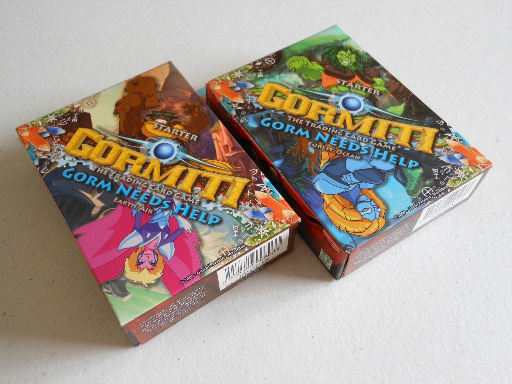 Gormiti: The Trading Card Game starter sets