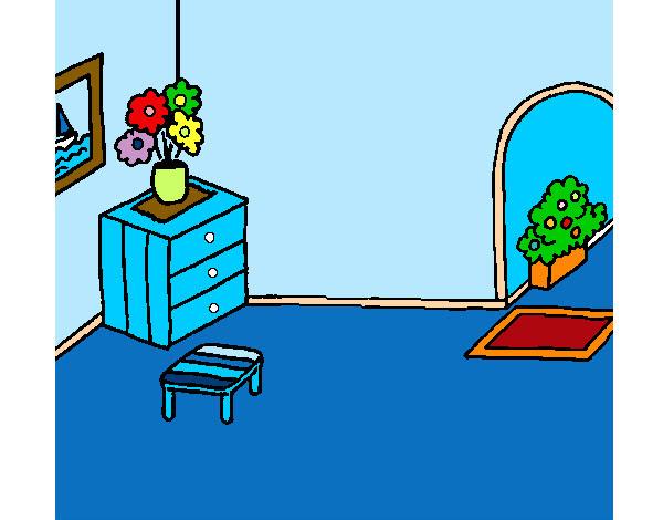 Dibujo De Casa Por Dentro Pintado Por Vod39 En Dibujosnet El Día 30