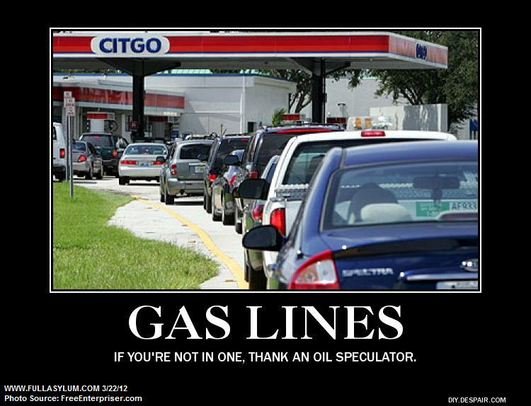 Thank an Oil Speculator