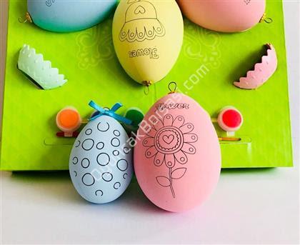 Toptan Yumurta Boyama Seti Büyük Boy Toptan Fiyatları Ahşap Ve