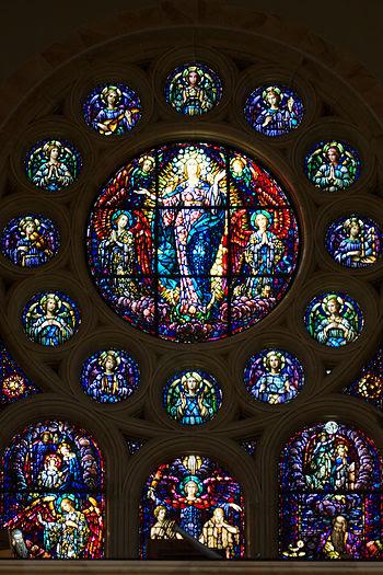 English: Holy Hill National Shrine of Mary, He...