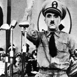 """Una scena del film """"Il grande dittatore"""""""