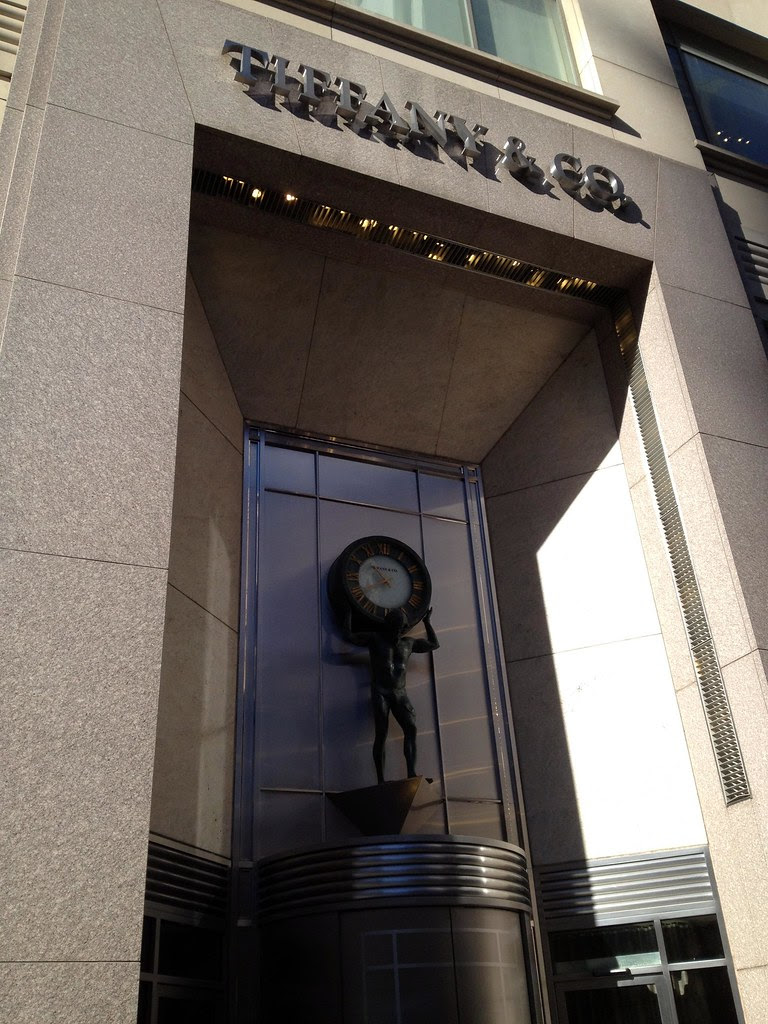 Tiffany & Company on The Magnificent Mile - Windy City - See Highlights From Around Chicago, Illinois! (via Wading in Big Shoes)