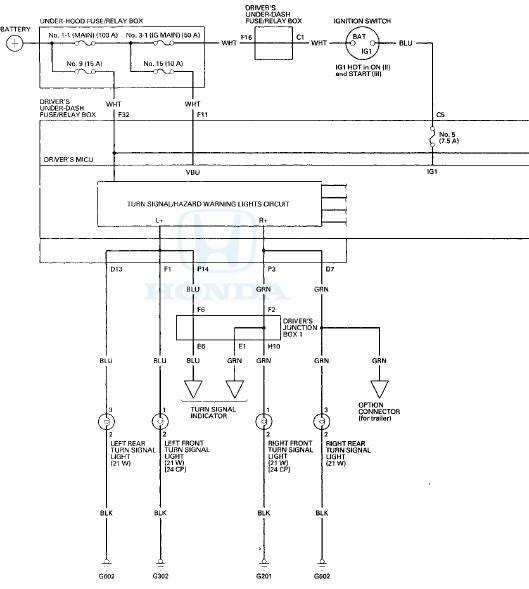 2012 Honda Turn Signal Wiring Diagram Wiring Diagram Module B Module B Emilia Fise It