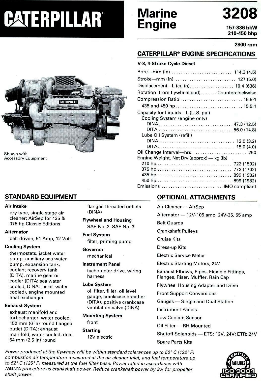 Cat V8 Engine Diagram