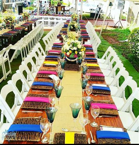 Multicolor Themed Traditional Wedding Decoration