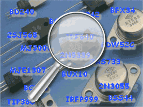 Chương trình cấp phép thành phần và cơ sở dữ liệu Transistor