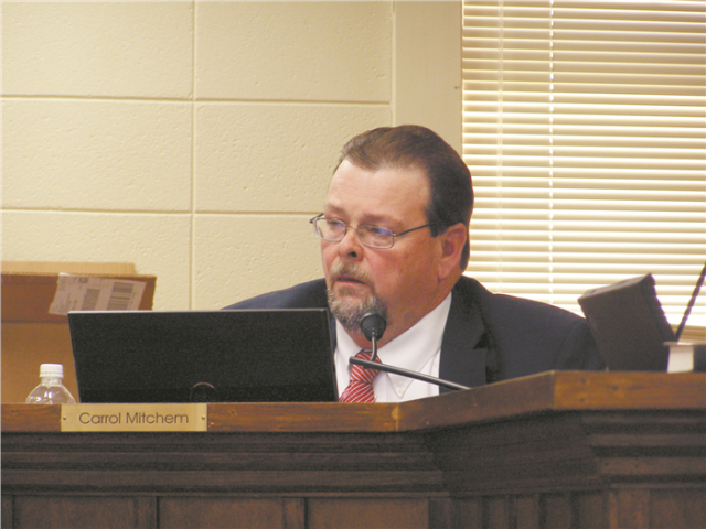 Lincoln County Board of Commissioners Chairman Carrol Mitchem. Read more at: http://www.forwardprogressives.com/nc-gop-commissioner-carrol-mitchem-non-christian-prayers-forbidden-county-meetings
