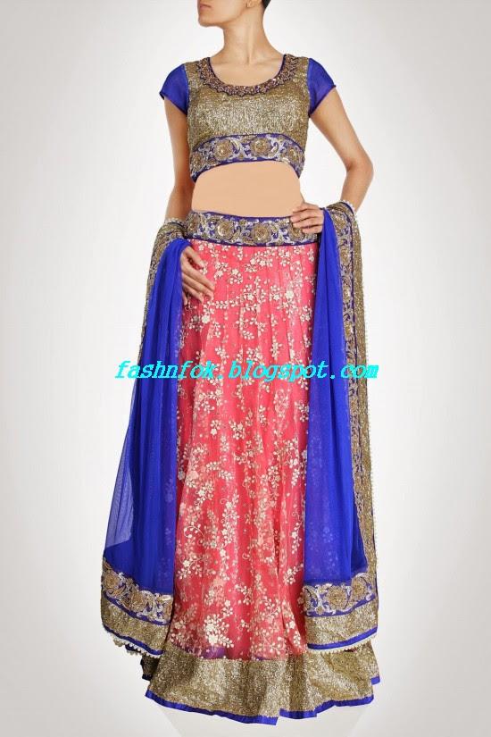 Anarkali-Bridal-Wedding-Lehenga-New-Fashion-Outfits-by-Kiran-&-Shruti-Aksh-6