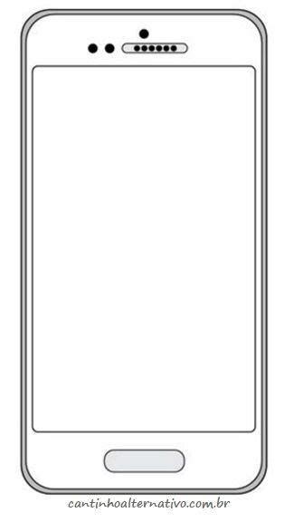 Blank Cell Phone Templates (4 templates) - MyKingList.com