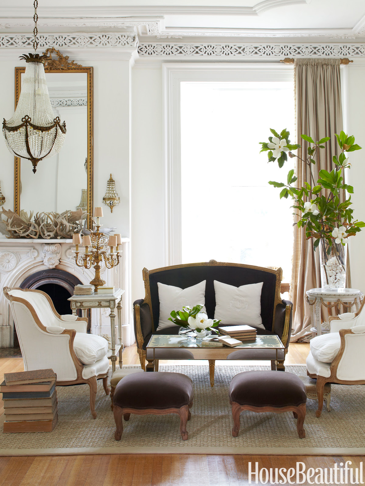 styled space European Glamour in the Midwest USA