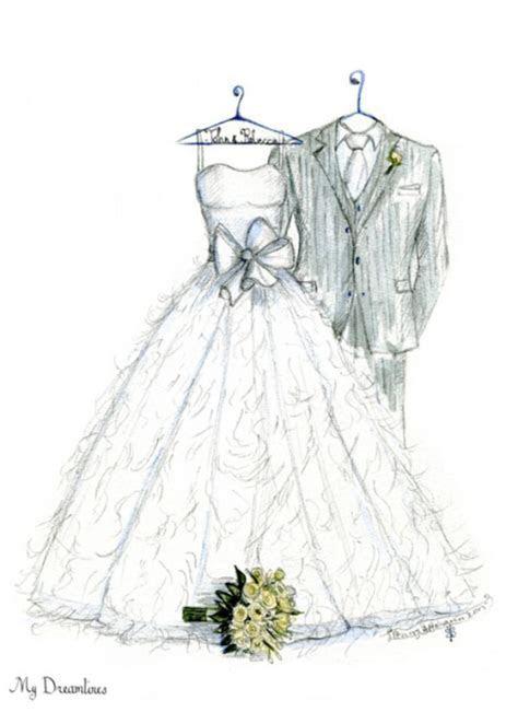 My Dreamlines: Wedding Dress Sketch ? A Never before