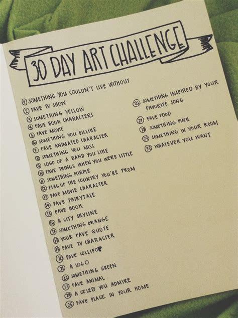 day art challenge