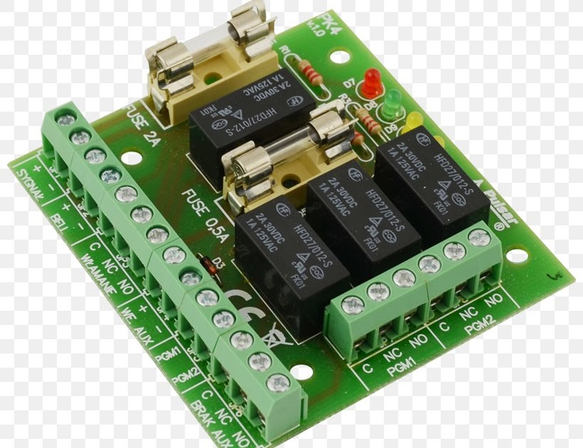 Capacitor Relay Circuit