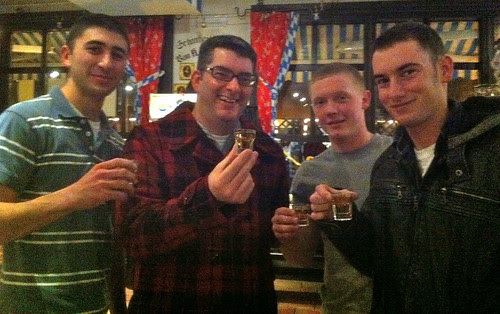 Mike, Me, Nate, & Steven by currtdawg