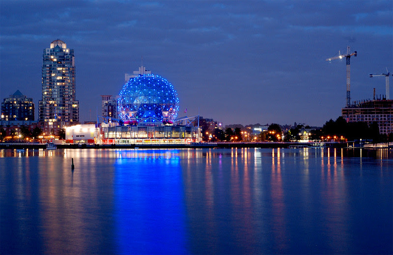 Science World, False Creek