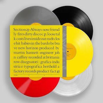 Always Now 5LP coloured vinyl box set [FBN 3-045]