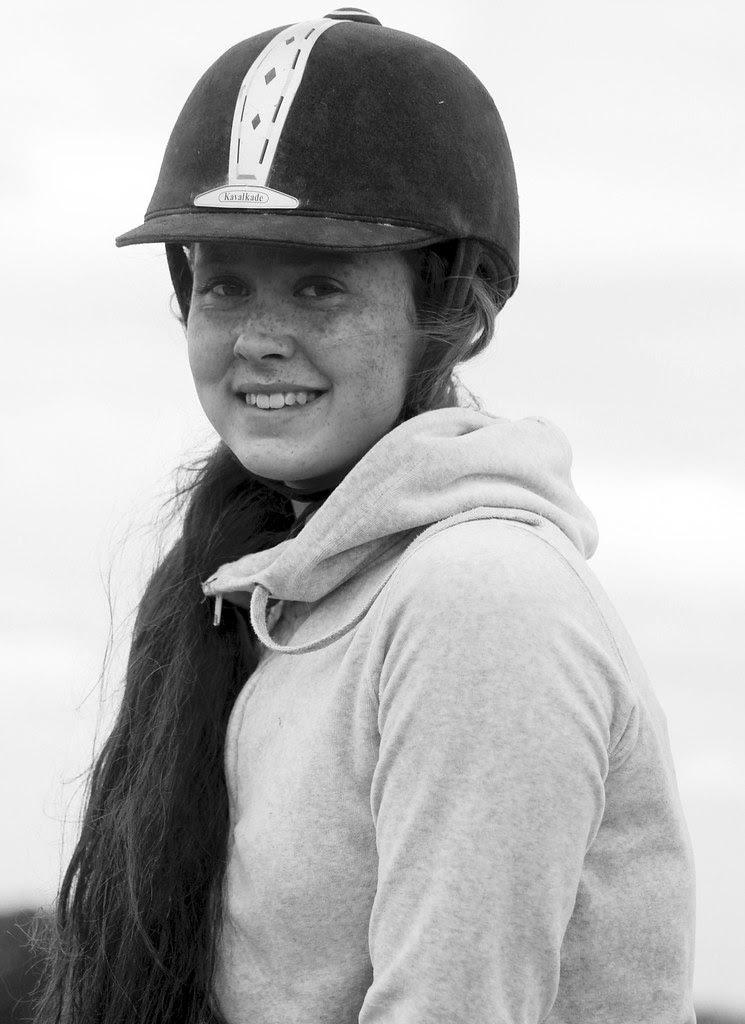 A Freckled Faced Girl