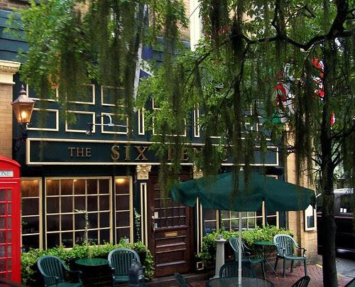 The Six Pence Pub in Savannah