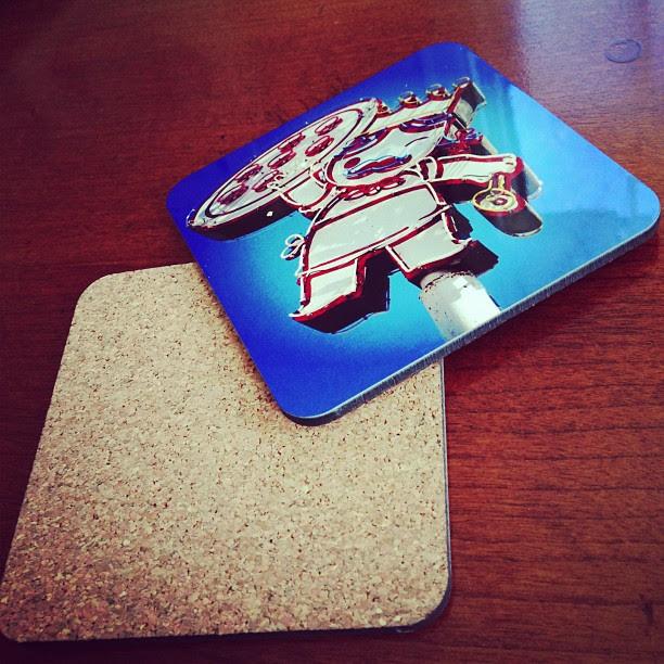 Coasters. #sxsw