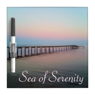 Sunset Sea of Serenity Dry Erase Whiteboard