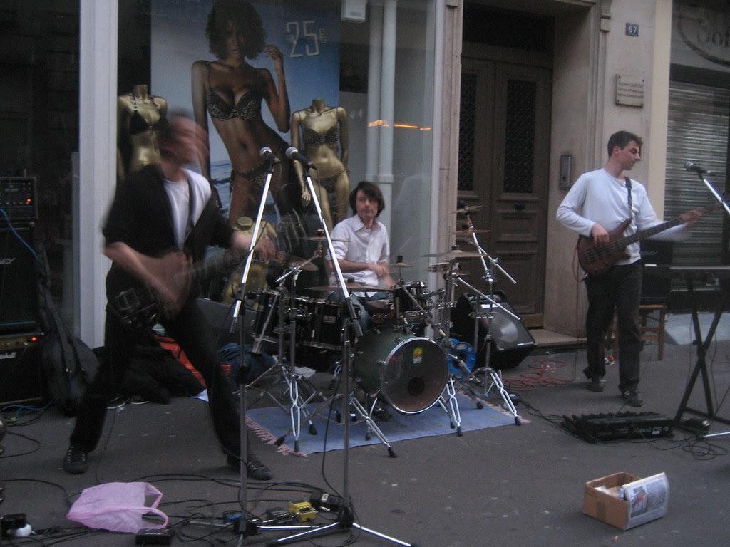 The Arkitekts @ La Fête de la Musique, Paris