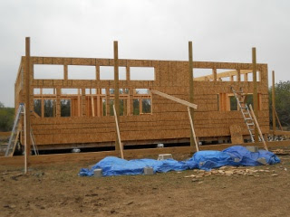 House Pony Walls Complete with OSB