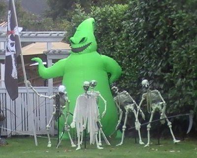 Oogie Boogie Inflatable! | Nightmare Before Christmas | Pinterest