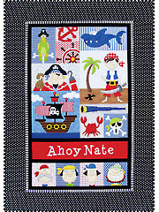 Pirates for Boys and Girls Quilt Pattern