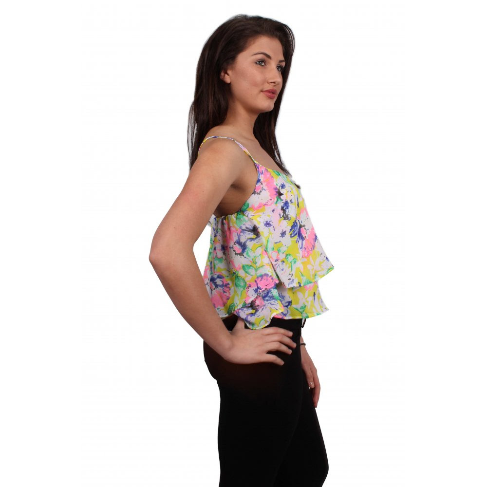 Top coloured camisole tops