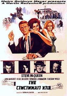 Original poster for 'The Cincinnati Kid' (1965)