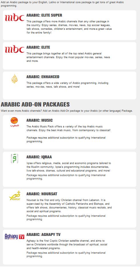 Arabic Programming Perfect Satellite Tv