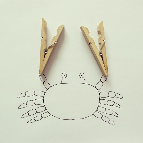 doodles with everyday objects javier perez (12)