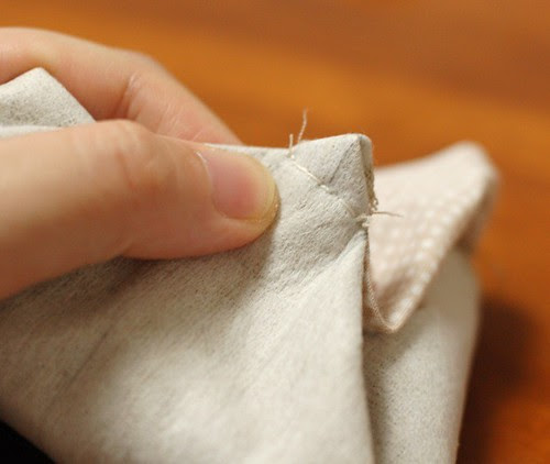 How to make a petit pouch